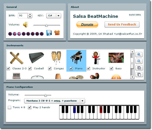 Salsa Beat Machine